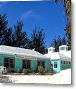 Horseshoe Beach Centre Bermuda Metal Print