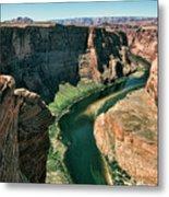 Horseshoe Bend Arizona Colorado River  Metal Print
