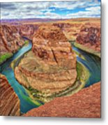 Horseshoe Bend - Colorado River - Arizona Metal Print