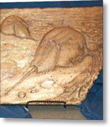 Horseshoe Crabs Metal Print by Doris Lindsey