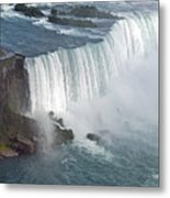 Horseshoe Falls At Niagara Metal Print