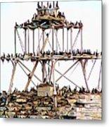 Horseshoe Reef Lighthouse 3 Metal Print