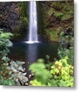 Horsetail Falls Basin Metal Print