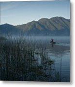 Horsetails On Lake Atitlan Guatemala Metal Print