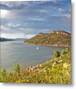 Horsetooth Dam Co Metal Print