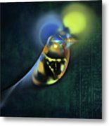 Horus Egyptian God Of The Sky Metal Print by Menega Sabidussi