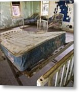 Hospital Bed Preston Castle Metal Print