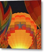 Hot Aie Balloons Metal Print