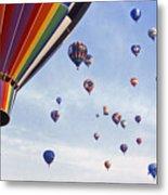 Hot Air Balloon - 12 Metal Print by Randy Muir