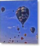 Hot Air Balloon - 14 Metal Print by Randy Muir