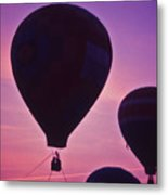 Hot Air Balloon - 8 Metal Print by Randy Muir