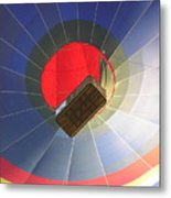 Hot Air Balloon Metal Print by Richard Mitchell