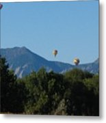 hot air balloons SCN M 23 Metal Print