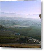 Hot Air Baloon Temecula Ca Metal Print