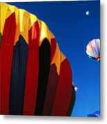 Hot Air Goes Up Metal Print