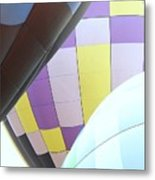 Hot Air Rising Metal Print