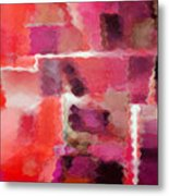 Hot Colors Metal Print