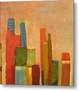 Hot Manhattan Metal Print