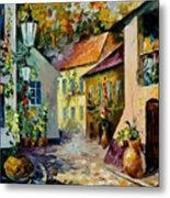 Hot Noon Original Oil Painting  Metal Print