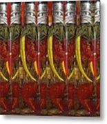 Hot Pickled Peppers Metal Print