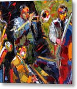 Hot Quartet Metal Print