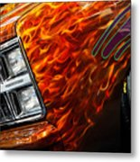 Hot Rod Chevrolet Scotsdale 1978 Metal Print
