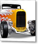 Hot Rod Ford Hi-boy Coupe 1932 Metal Print