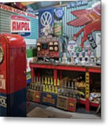 Hot Rod Garage 2 Metal Print