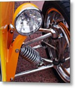 Hot Rod Headlight Metal Print