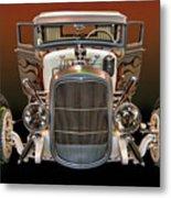 Hot Rod Lincoln Too Metal Print