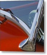 Hot Rod Steering Wheel 4 Metal Print