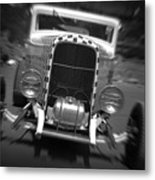 Hot Rods At Pendine 11 Metal Print