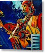 Hot Sax Metal Print