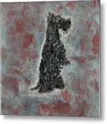 Hot Scottie Metal Print