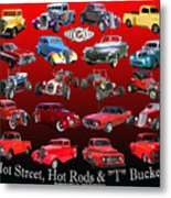 Car Show And Shine Poster Metal Print