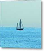Hot Summer Day In New England Metal Print