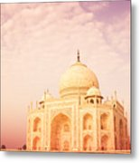 Hot Taj Mahal Metal Print