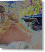 Hot Tub Metal Print