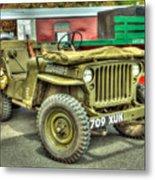 Hotchkiss Jeep Metal Print