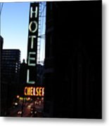 Hotel Chelsea Metal Print