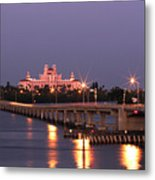 Hotel Don Cesar The Pink Palace St Petes Beach Florida Metal Print