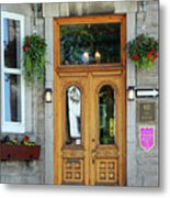 Hotel Ermitage Quebec City  6526 Metal Print