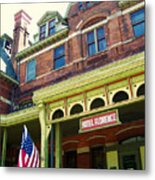 Hotel Florence Pullman National Monument Metal Print