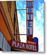 Hotel Motel Metal Print