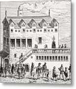 Hotel Of The Chamber Of Accounts In The Metal Print