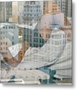 Hotel Phelan Reflection Metal Print