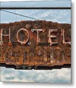 Hotel Pontotoc Metal Print