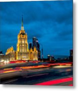 Hotel Radisson In Moscow Metal Print