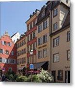 Hotel Suisse Strasbourg France Metal Print