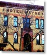 Hotel Wayne Bistro - Honesdale Pa Metal Print